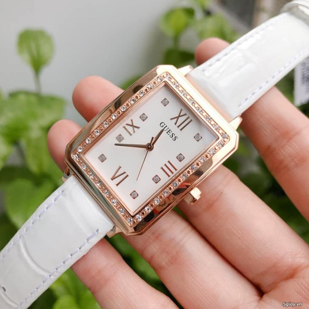 Đồng hồ Guess chipu 2 màu đen trắng - 2