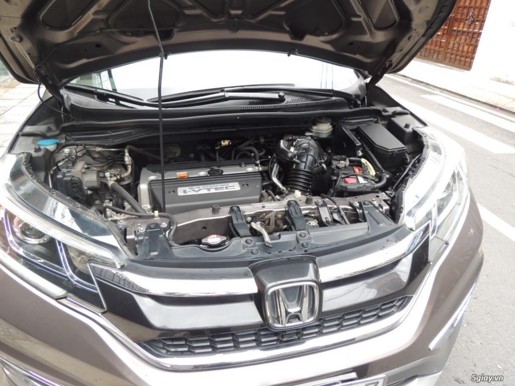 Honda CRV 2.4 AT năm SX 2015 model 2016 màu nâu - 7