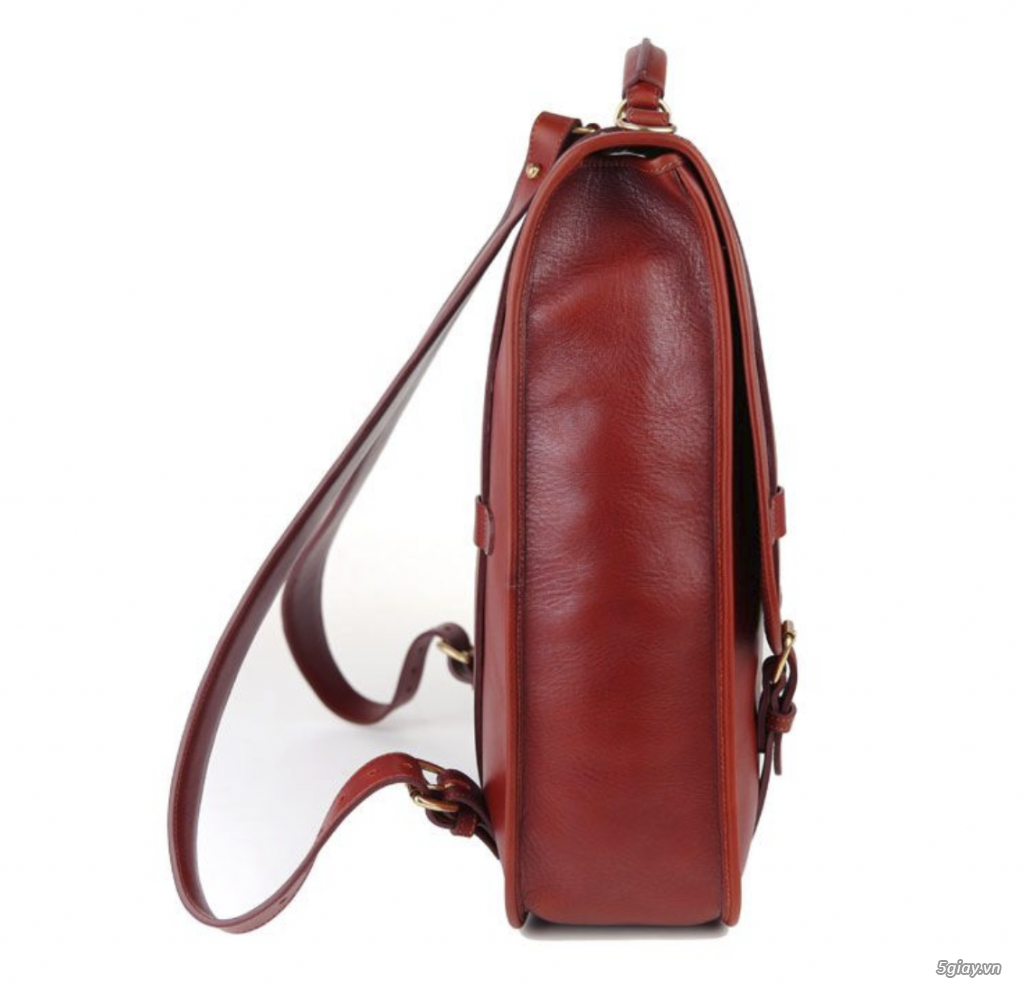 Bán balo Backpack leather luxury Red USA New - 2