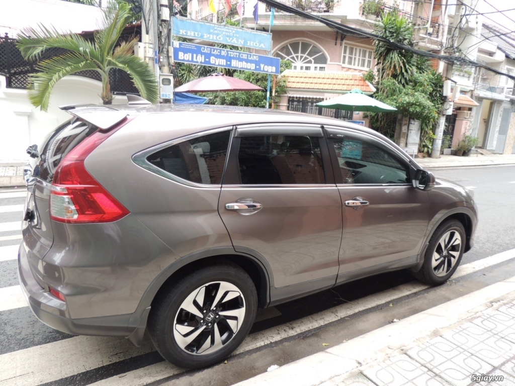 Honda CRV 2.4 AT năm SX 2015 model 2016 màu nâu - 5