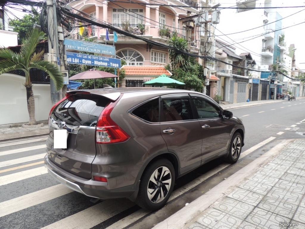 Honda CRV 2.4 AT năm SX 2015 model 2016 màu nâu - 4