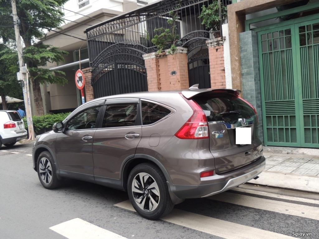 Honda CRV 2.4 AT năm SX 2015 model 2016 màu nâu - 3