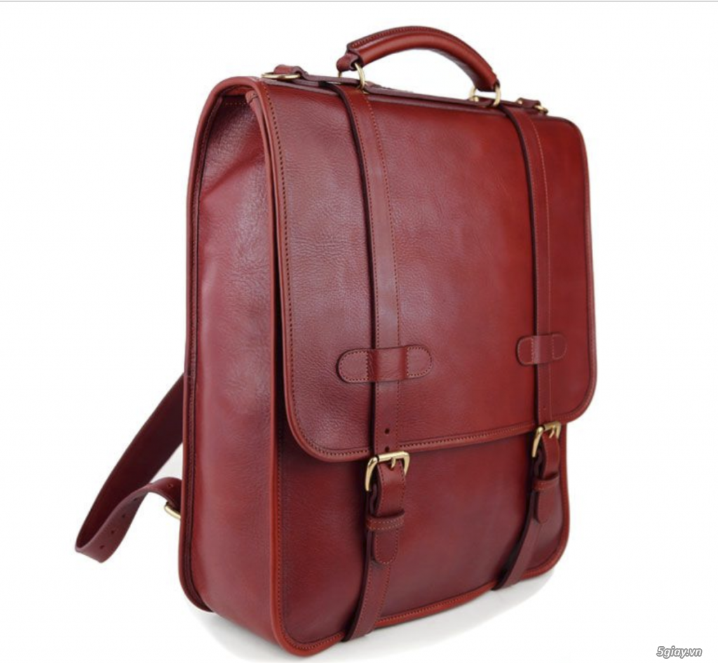 Bán balo Backpack leather luxury Red USA New