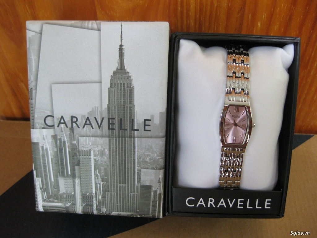 [Watches for Women] CARAVELE By BULOVA / End 22h59 14/11/2019.