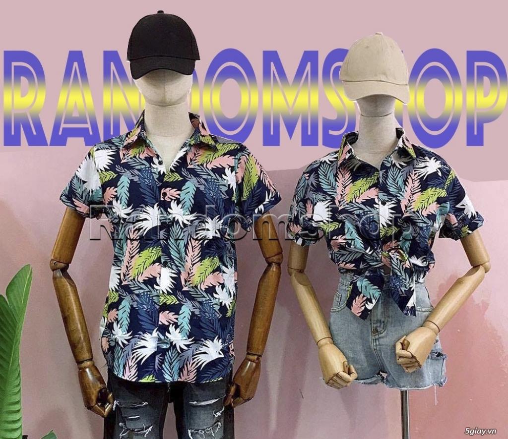 Áo sơ mi đũi họa tiết hawaii giá chỉ 99k - 8