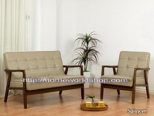 sofa pvc đơn hw105 - nội thất homeworld