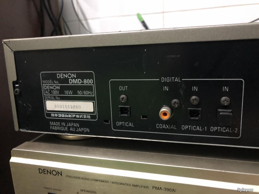 Đầu MD Denon DMD 800 - HÀNG CAM ĐẸP LÒNG LANH - CÓ GL LOA SURROUND - 6