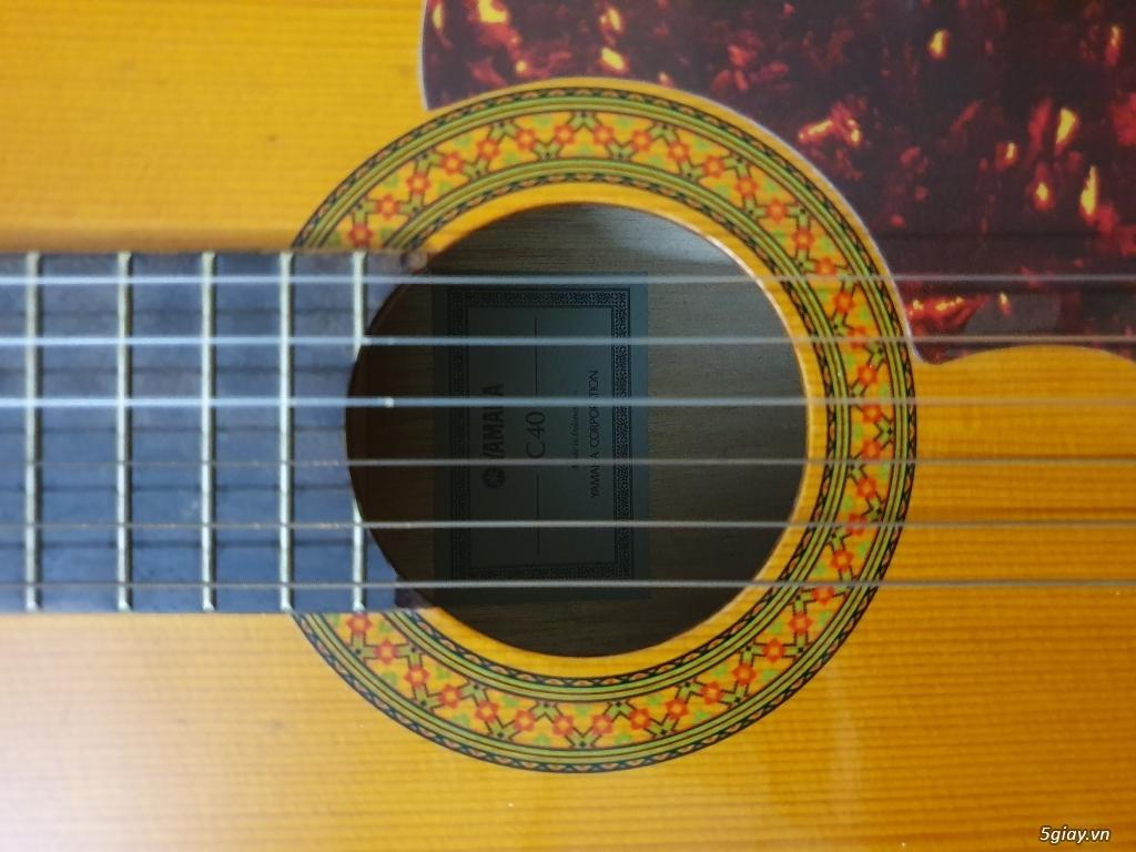 Đàn guitar yamaha c40 - 4