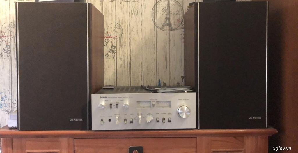 Dàn amply Yamaha - Loa Victor - 2