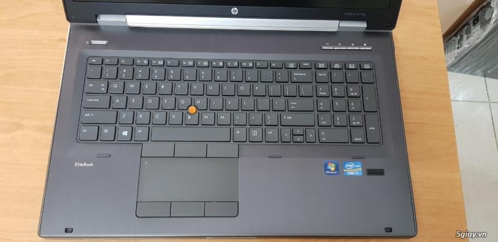 Laptop HP Workstation 8770w i7 chuyên đồ họa nặng ! - 1