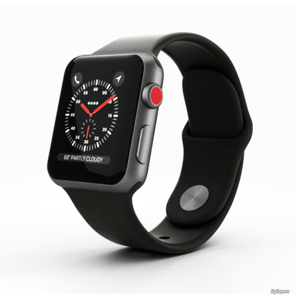 Apple Watch Series 3 38mm Space Gray mới 100%