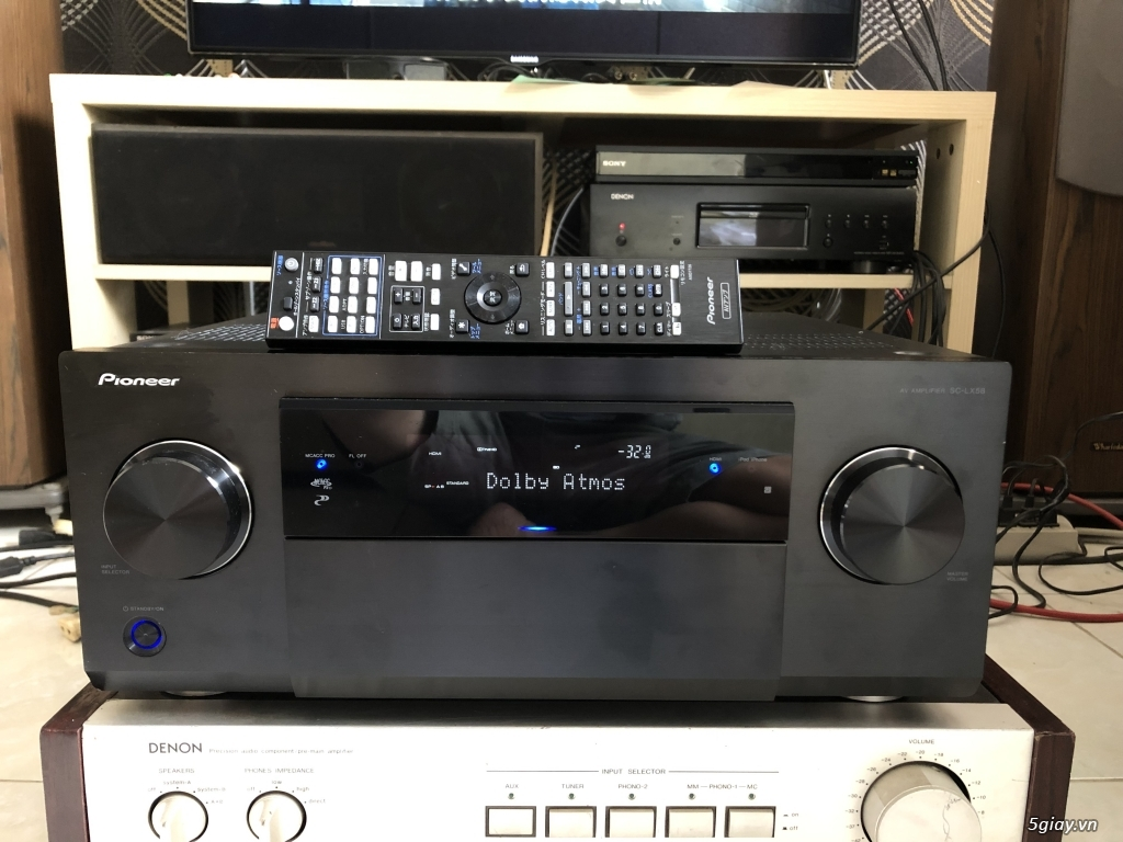 Ampli, CD, receiver, loa, subwoofer, center, surround các loại... - 9