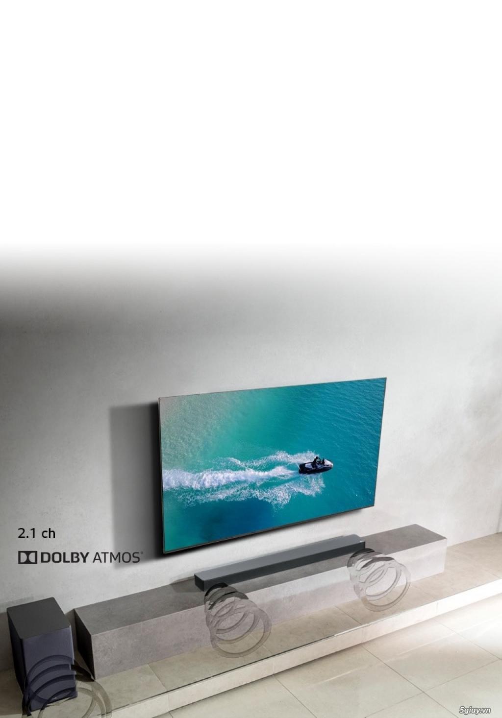 Loa soundbar LG Sk8 Sub ko dây cao cấp 360W new nguyên seal - 2