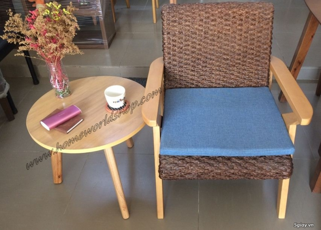 bàn sofa đơn hw412 - nội thất homeworld - 1