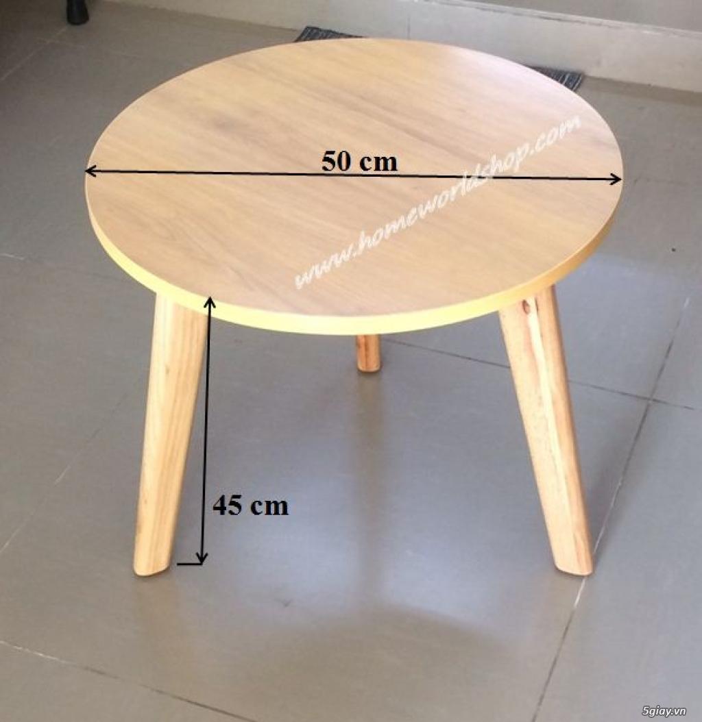 bàn sofa đơn hw412 - nội thất homeworld - 7