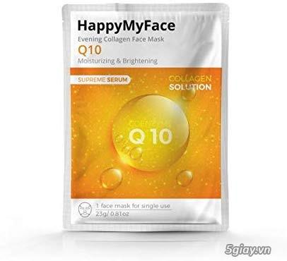 MẶT NẠ COLAGEN Q10, Green tea