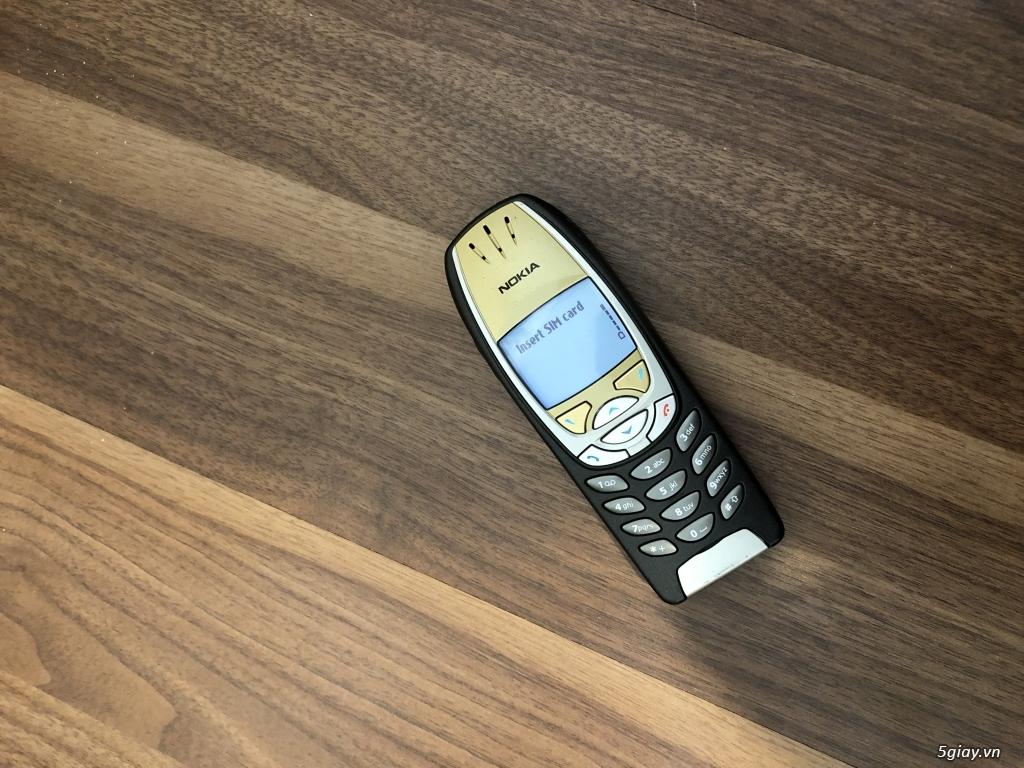 Nokia 6310i Jetblack ( Vàng - Đen ) Zin cứng tuyệt đẹp chuẩn mọi phiện - 24