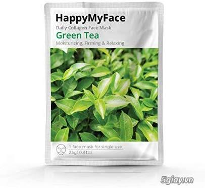 MẶT NẠ COLAGEN Q10, Green tea - 3