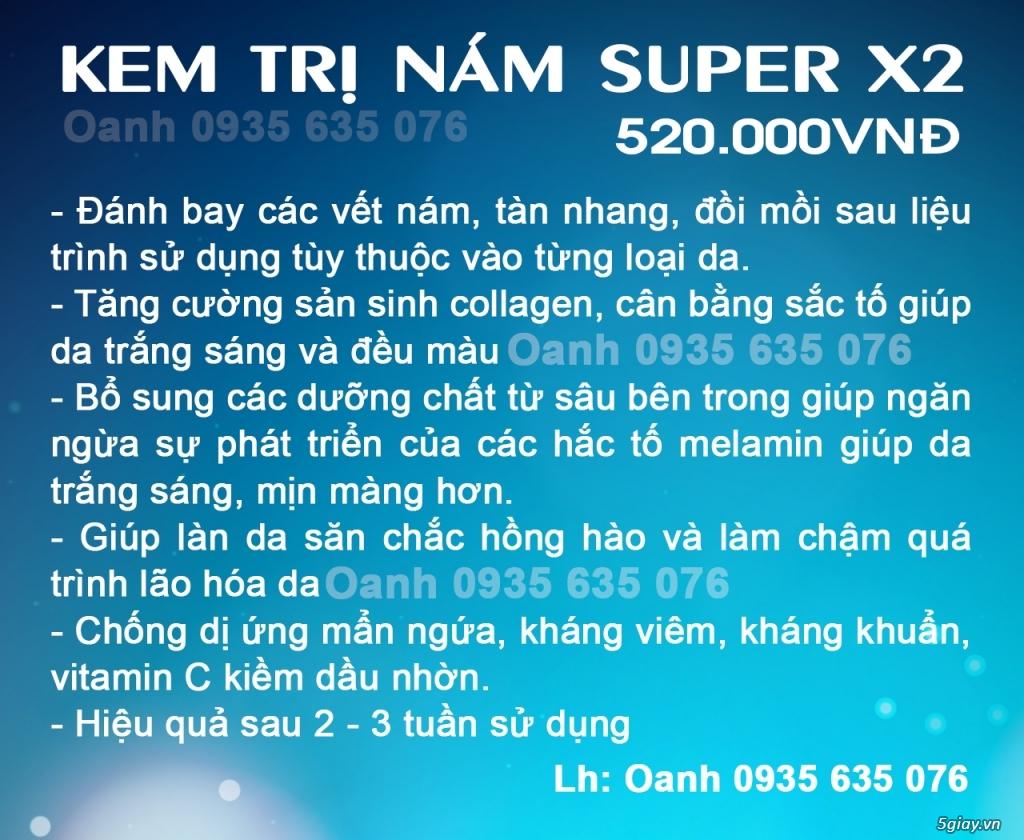 kem trị nám c'vin KEM TRỊ NÁM SUPER X2 - 1