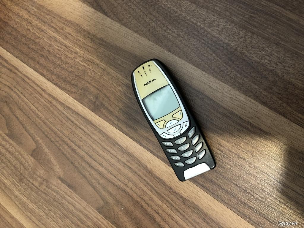 Nokia 6310i Jetblack ( Vàng - Đen ) Zin cứng tuyệt đẹp chuẩn mọi phiện - 8
