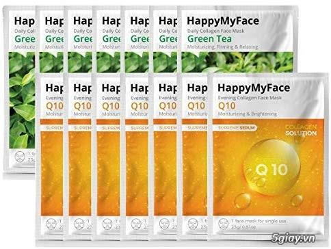MẶT NẠ COLAGEN Q10, Green tea - 1