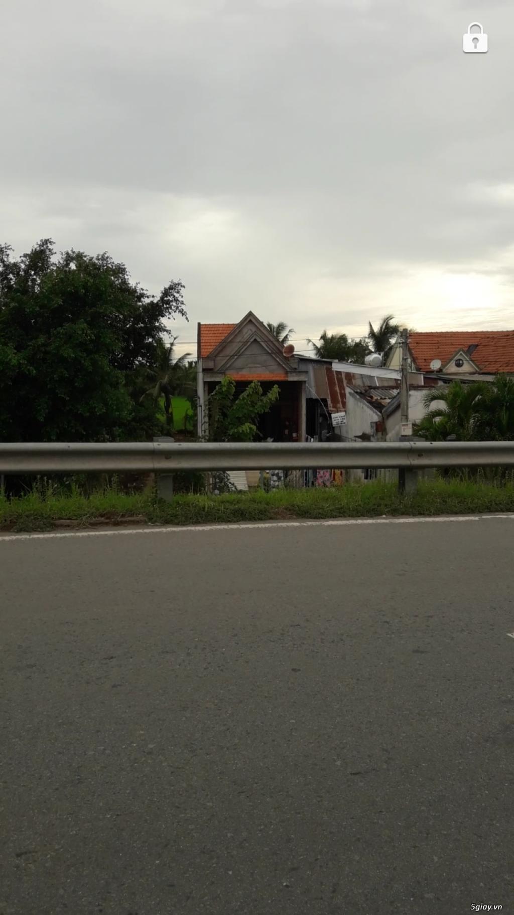 Bán nhà thị trấn thủ thừa mặt tiền tỉnh lộ 834