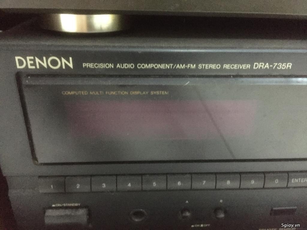 Bán dàn âm thanh rời Denon, loa Trio LS-202, hàng đẹp, giá tốt - 3