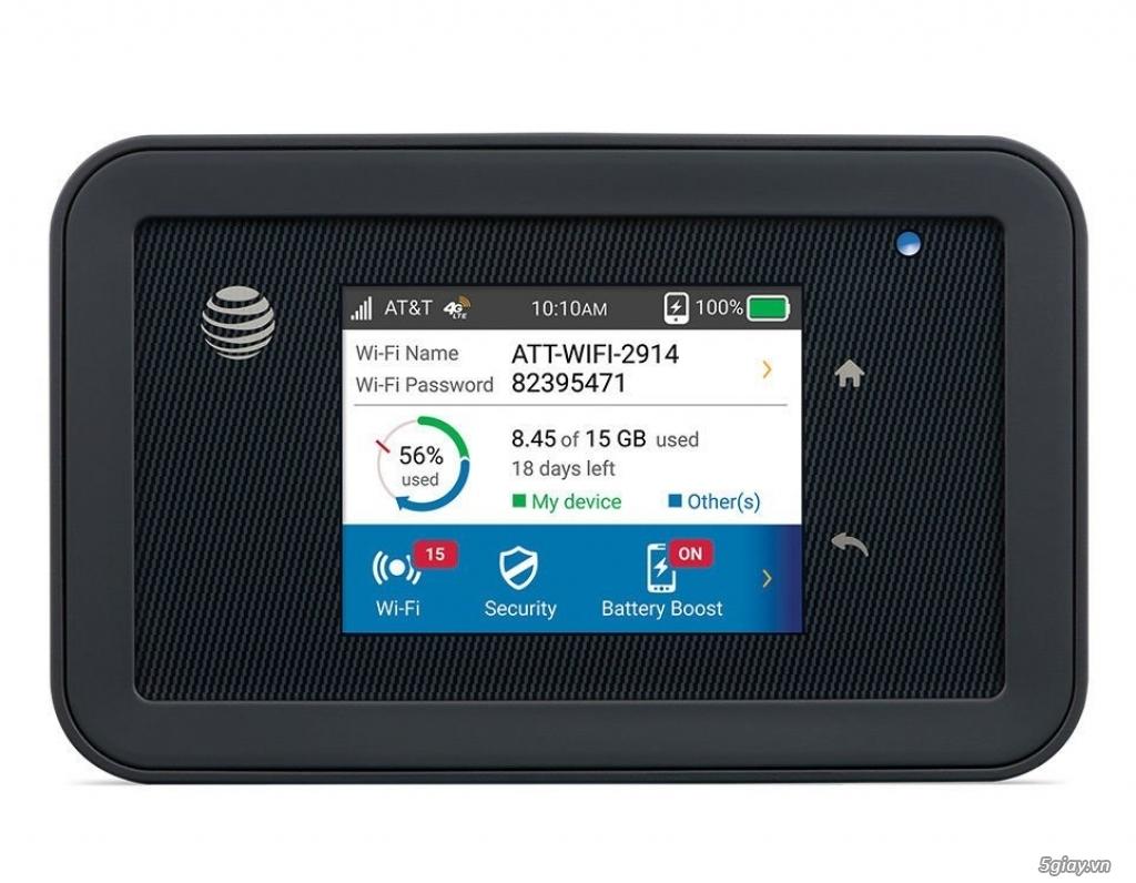 Bán bộ phát Wifi 4G Netgear 815s tốc độ 450Mbps. Hàng Mỹ - 3