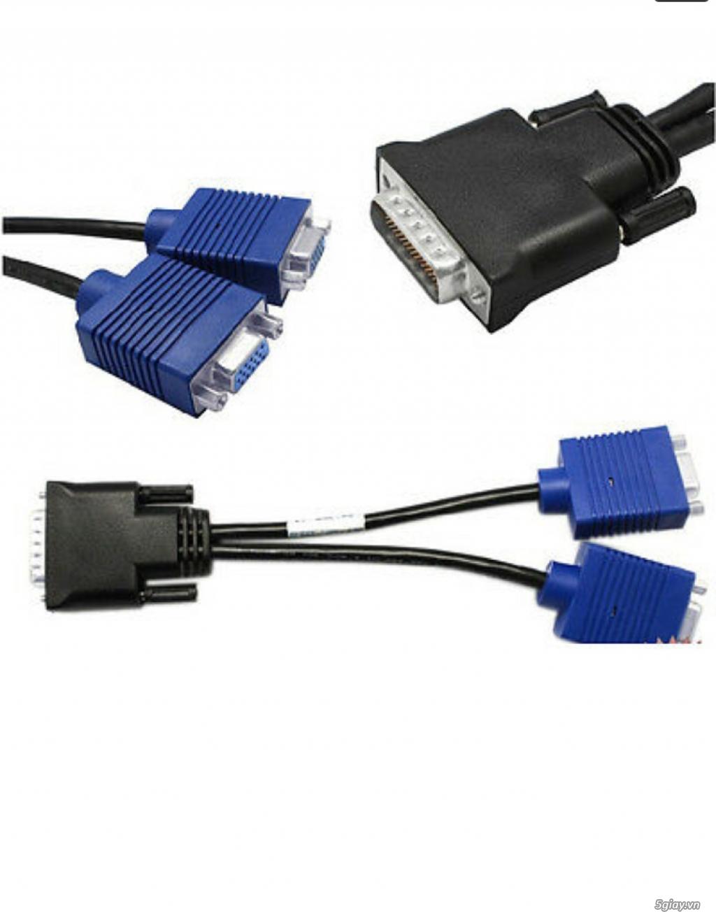 Sạc, cáp VGA, adapter + đồ linh tinh ..... - 15