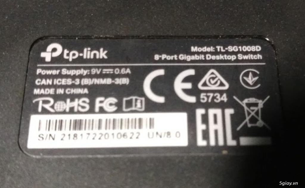 Switch để bàn Gigabit 8 cổng TL-SG1008D của TP-LINK - 2