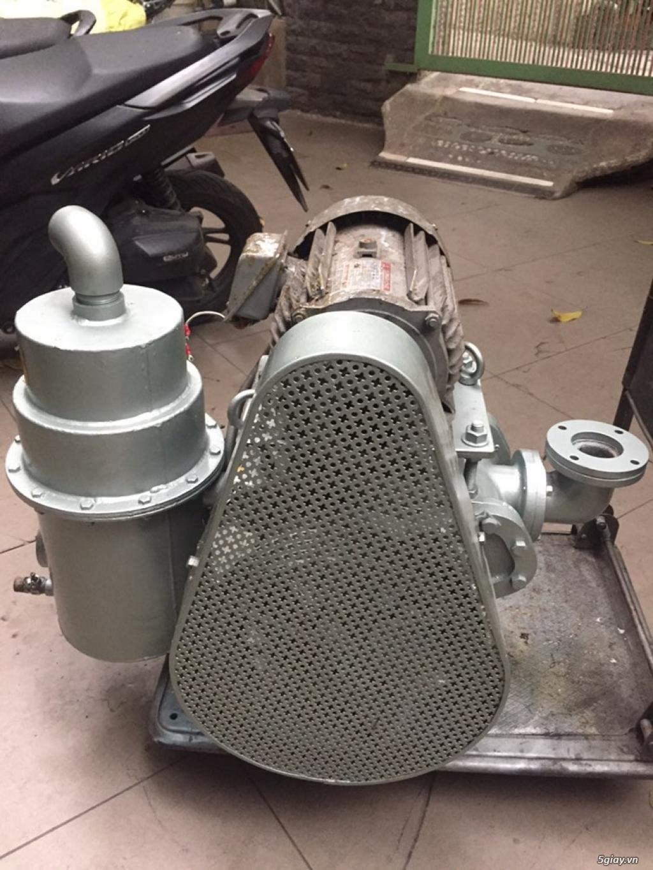 Bơm chân không piston dầu made in Japan - 3