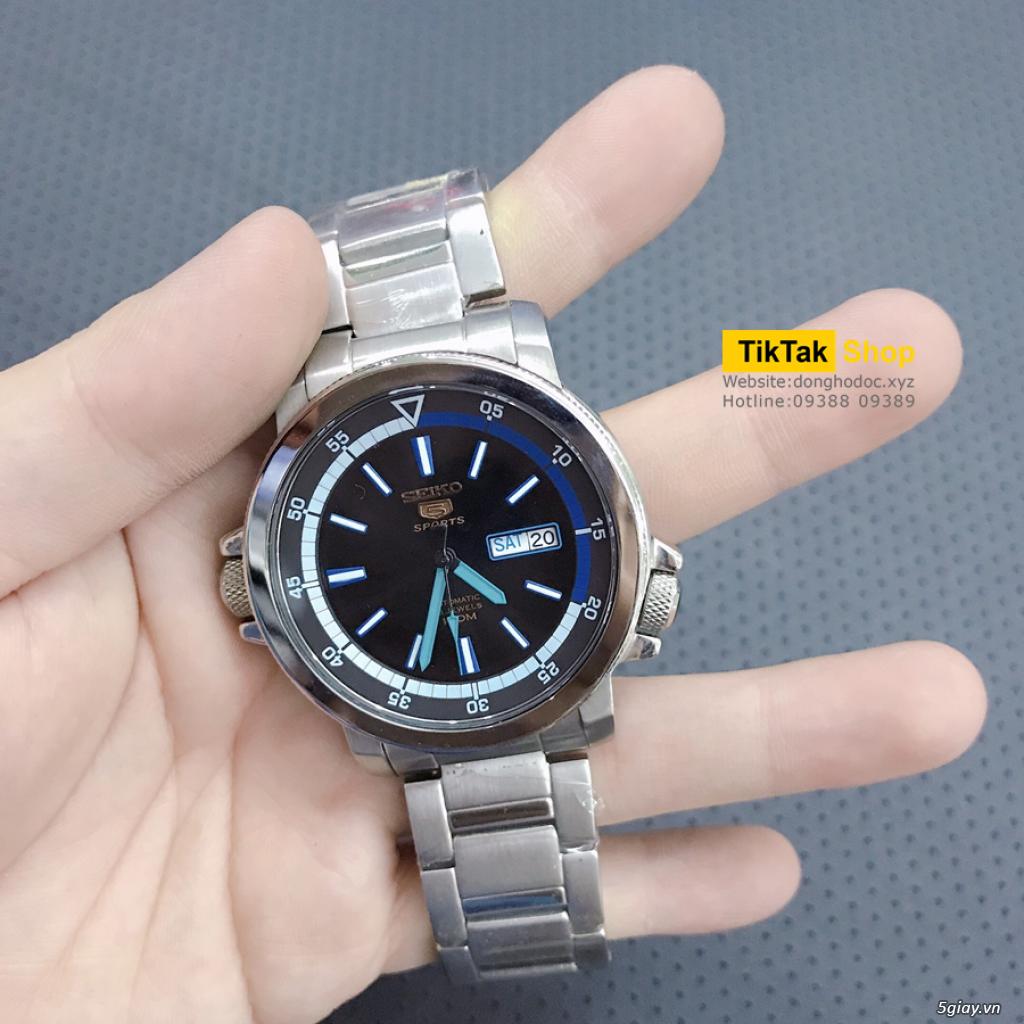 Đồng hồ Patek, Longines, IWC, AP, Omega, Rolex Automatic Replica 1:1 - 24