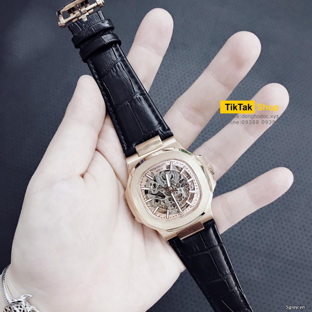 Đồng hồ Patek, Longines, IWC, AP, Omega, Rolex Automatic Replica 1:1 - 30