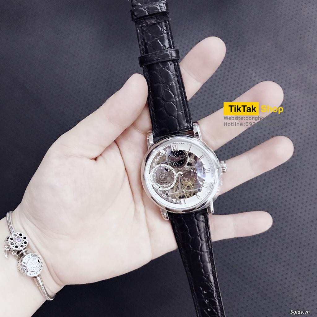 Đồng hồ Patek, Longines, IWC, AP, Omega, Rolex Automatic Replica 1:1 - 35