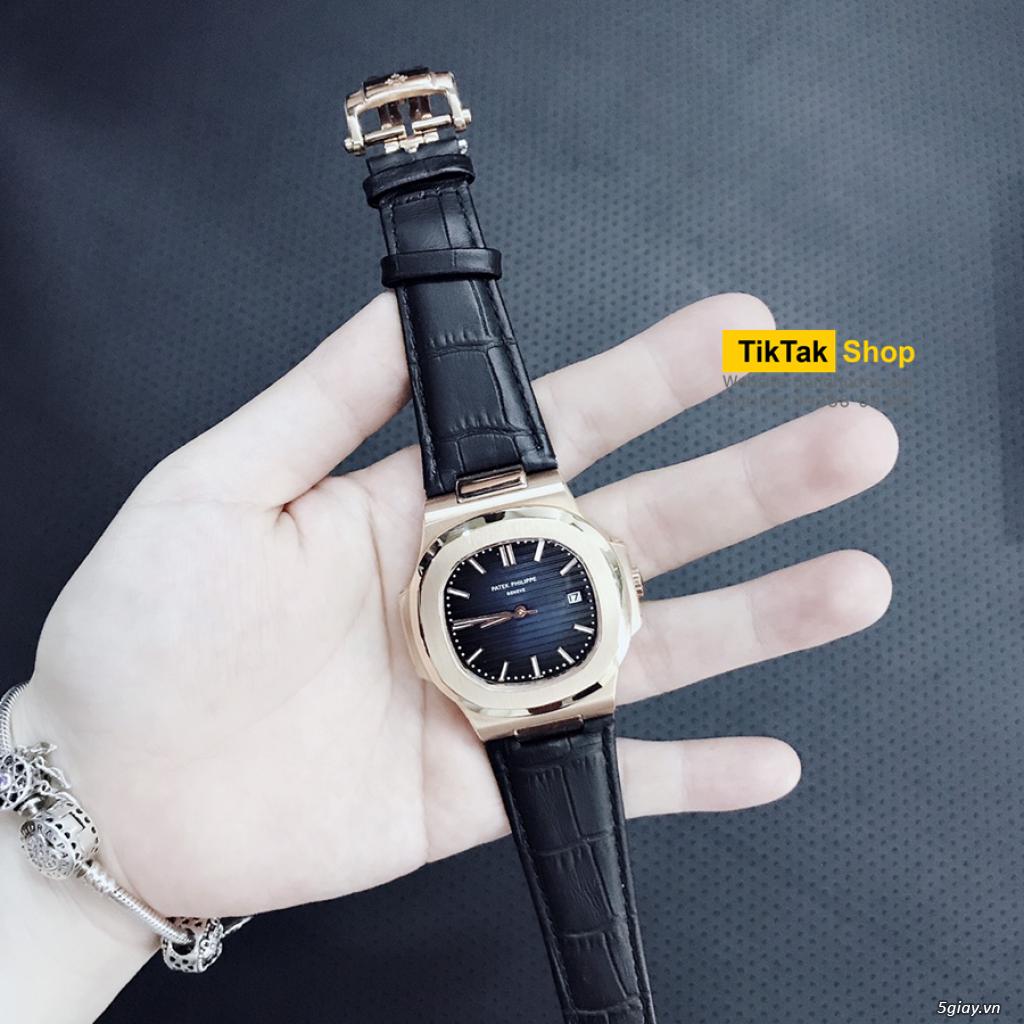 Đồng hồ Patek, Longines, IWC, AP, Omega, Rolex Automatic Replica 1:1 - 27