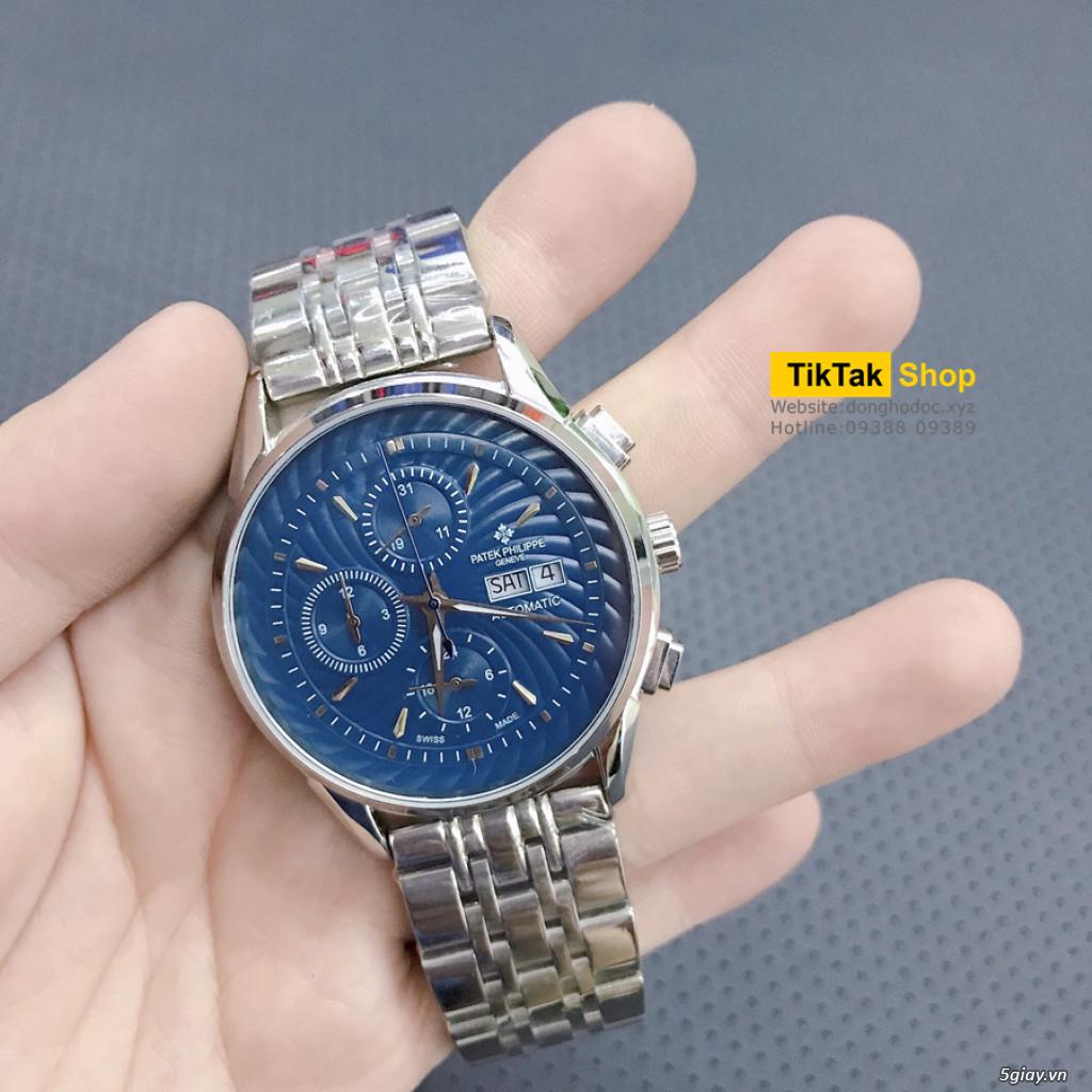 Đồng hồ Patek, Longines, IWC, AP, Omega, Rolex Automatic Replica 1:1 - 45