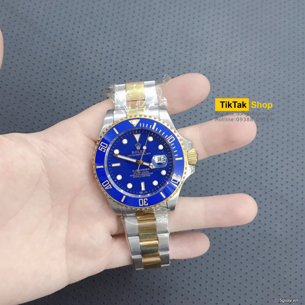 Đồng hồ Patek, Longines, IWC, AP, Omega, Rolex Automatic Replica 1:1 - 16