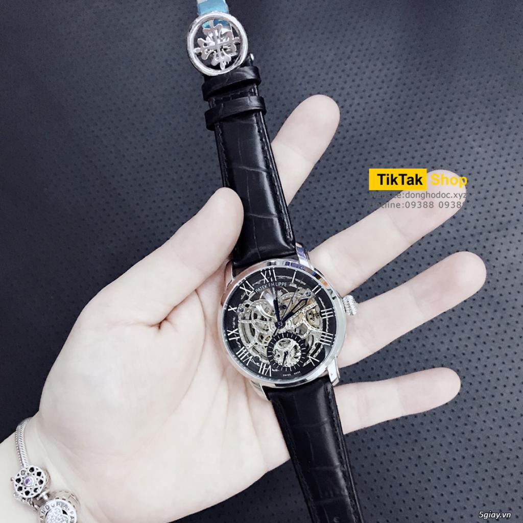 Đồng hồ Patek, Longines, IWC, AP, Omega, Rolex Automatic Replica 1:1 - 34