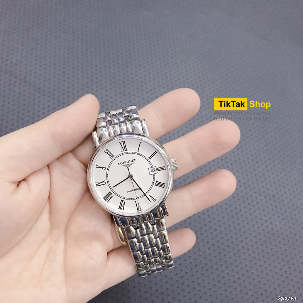Đồng hồ Patek, Longines, IWC, AP, Omega, Rolex Automatic Replica 1:1 - 26