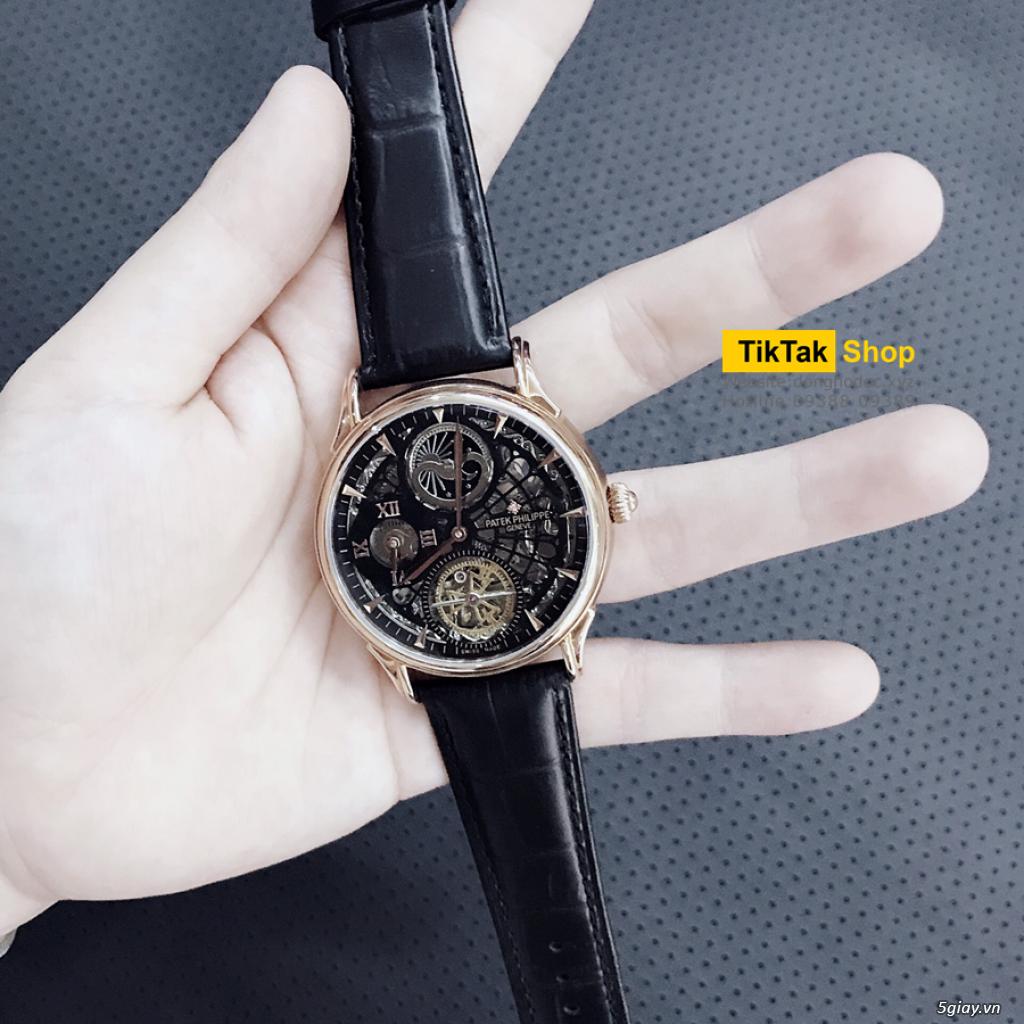 Đồng hồ Patek, Longines, IWC, AP, Omega, Rolex Automatic Replica 1:1 - 31