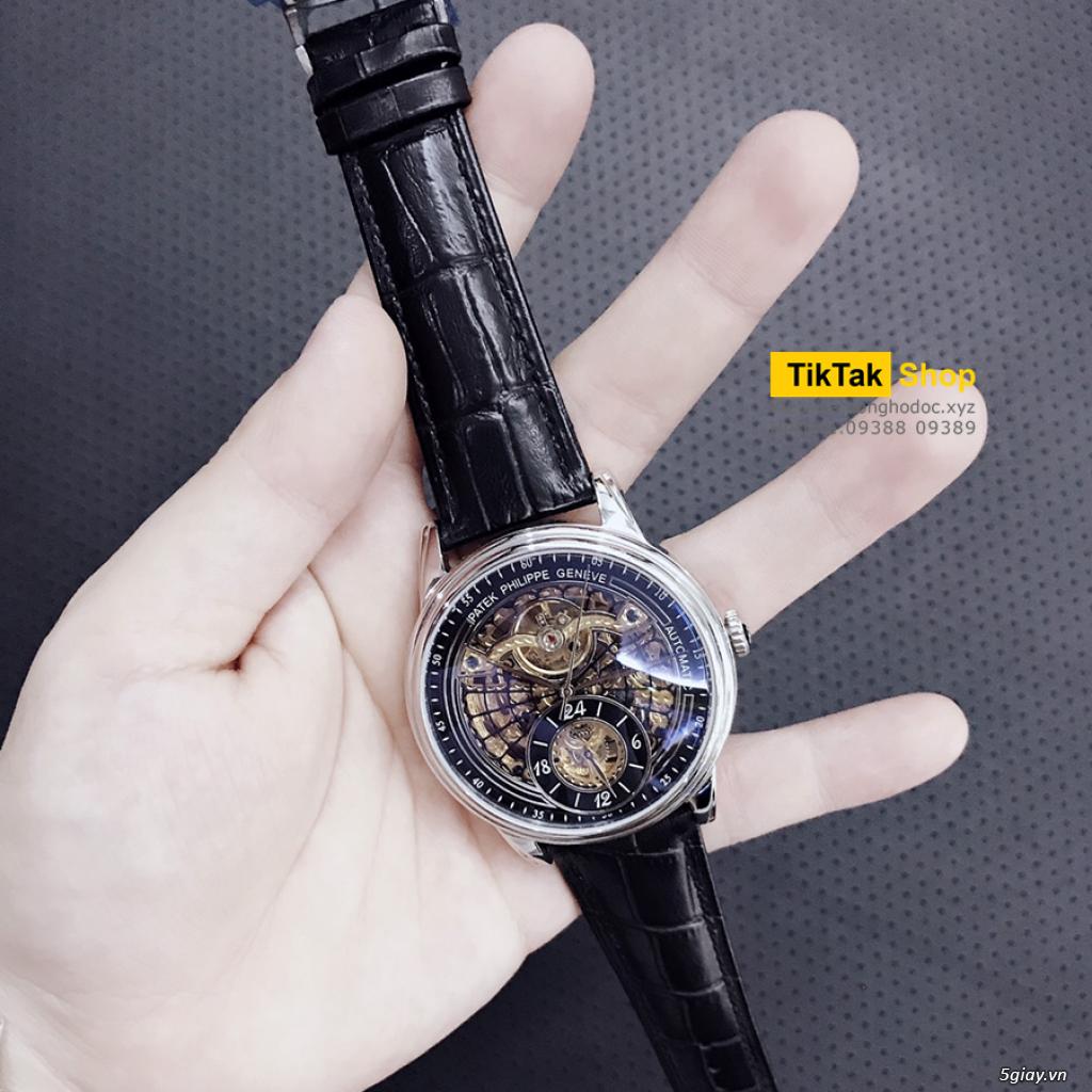 Đồng hồ Patek, Longines, IWC, AP, Omega, Rolex Automatic Replica 1:1 - 36