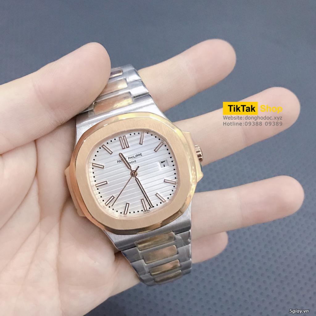 Đồng hồ Patek, Longines, IWC, AP, Omega, Rolex Automatic Replica 1:1 - 42