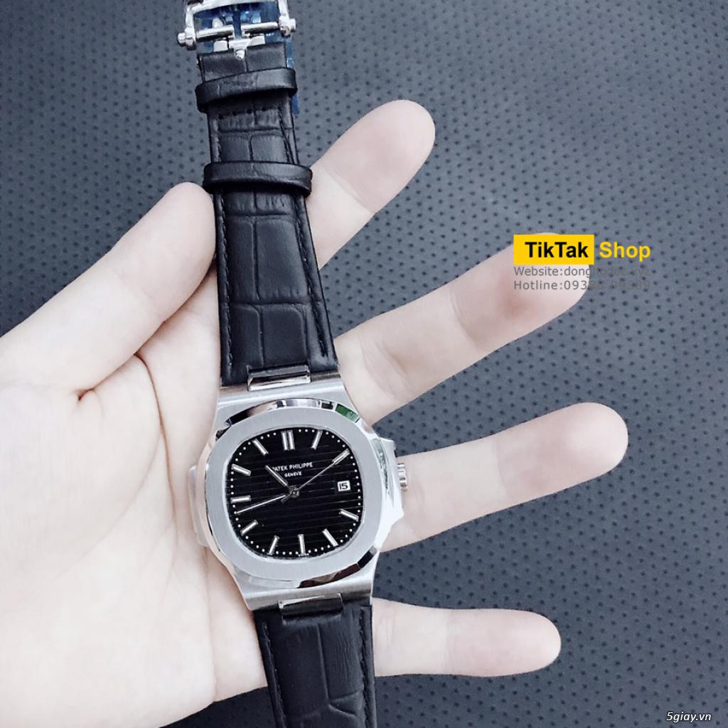 Đồng hồ Patek, Longines, IWC, AP, Omega, Rolex Automatic Replica 1:1 - 28