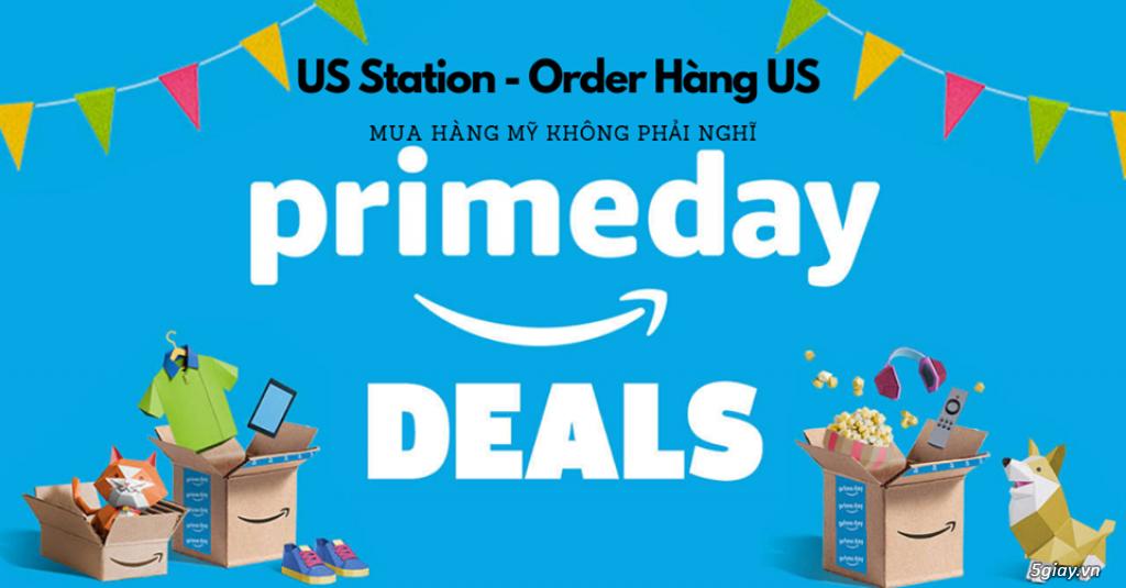 Free Công Mua Hàng Amazon prime day 2019 chỉ có tại US Station