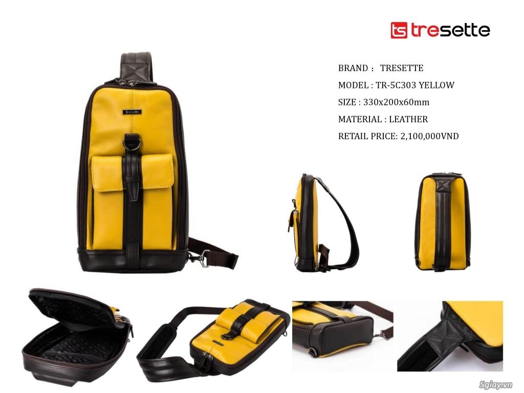 Thương hiệu Tresette Hàn Quốc là thương hiệu chuyên về Balo, Túi xách - 5