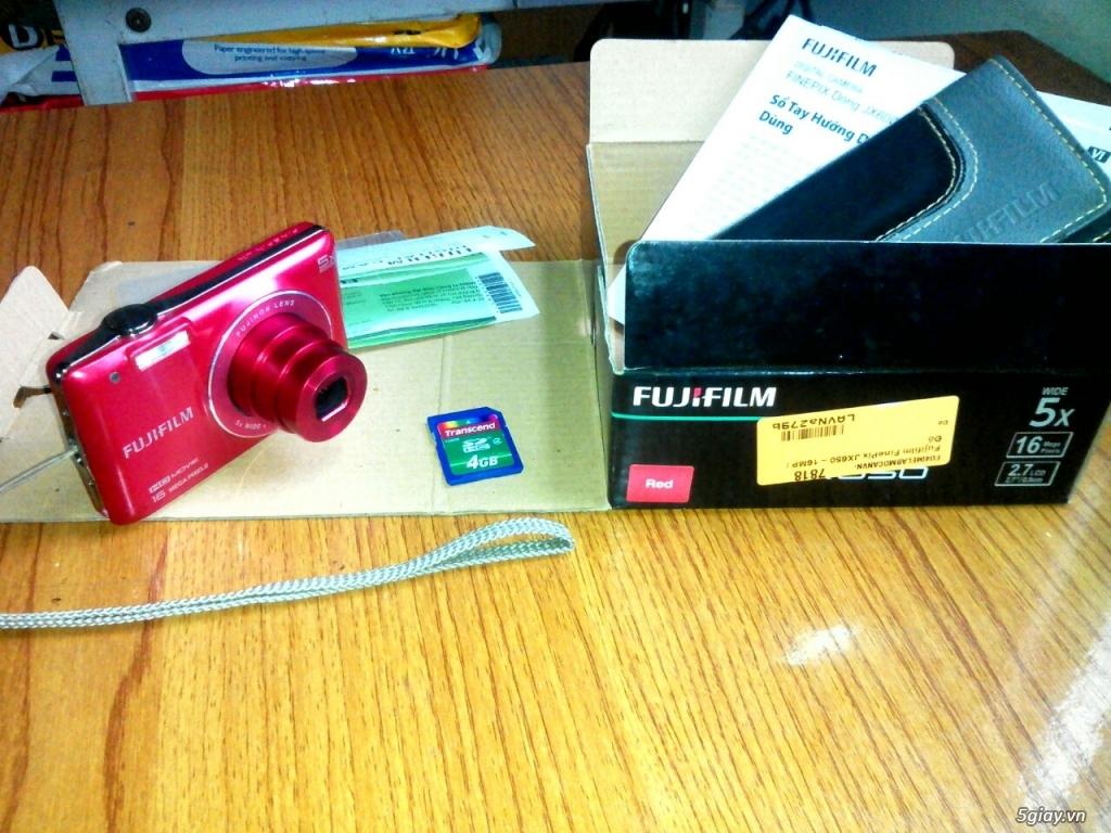 Máy ảnh Fujifilm FinePix JX650 như mới, nguyên tem, ít sử dụng.