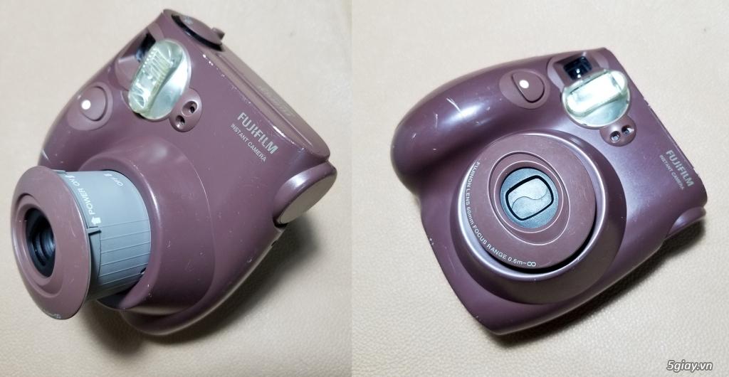 HCM-Bán máy ảnh chụp hình lấy liền Fujifilm Instax mini 7s, giá rẻ