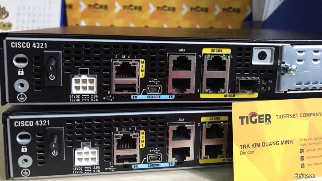 Thiết bị định tuyến (router) Cisco siêu rẻ! Bảo hàng 06 - 12 tháng! - 18