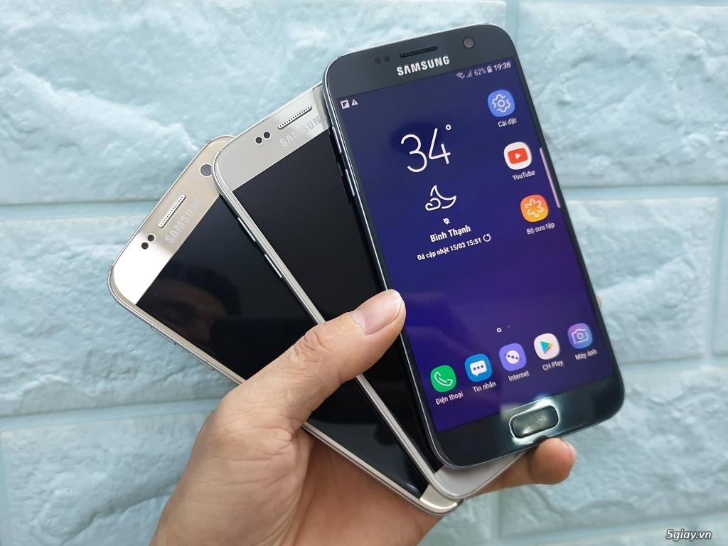 Samsung S7 99% màn hình đẹp, 2 SIM Nguyên Zin Hàn Quốc - 2