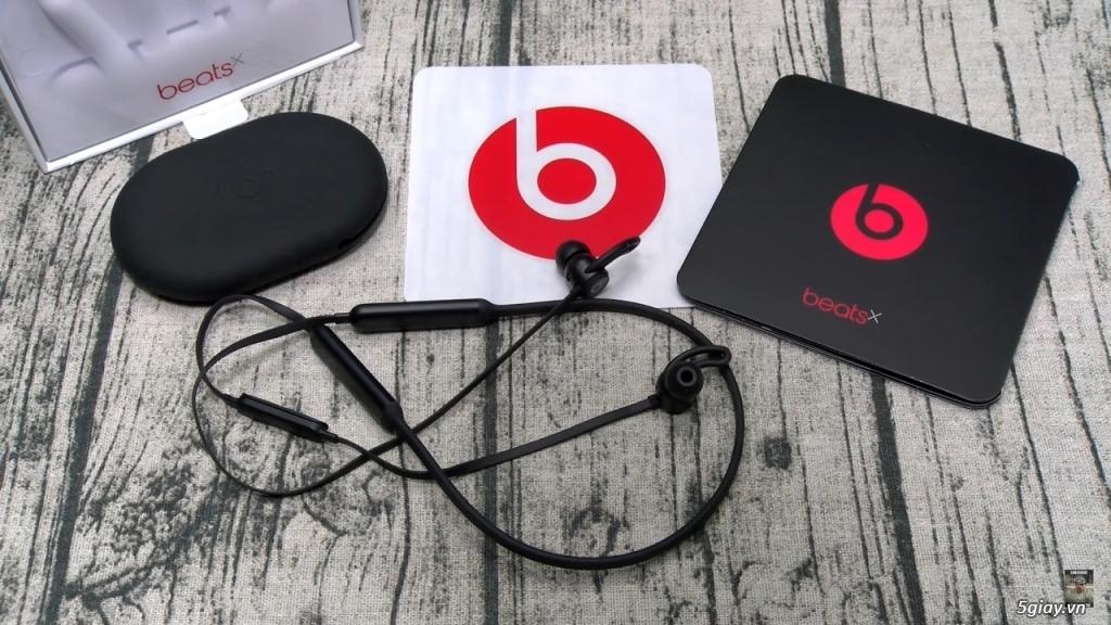 Tai nghe inear beats X wireless nguyên seal - 1